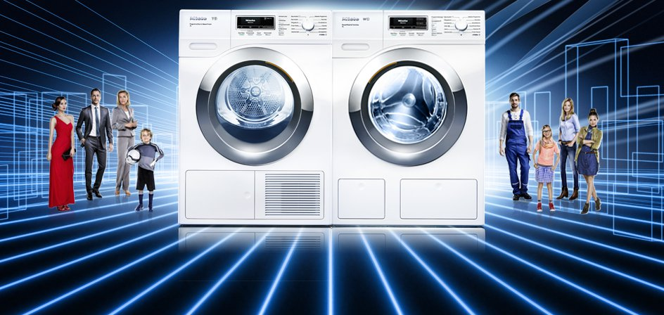 this is not a new washing machine or a new dryer but a whole system of clothes washing and care globally launched by miele the company presents a