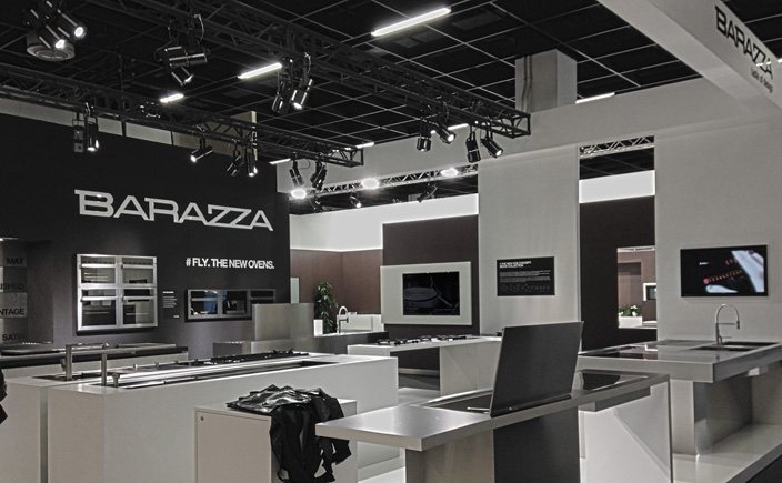 barazza shows its best products at living kitchen home appliances world. Black Bedroom Furniture Sets. Home Design Ideas