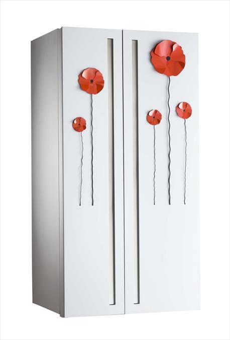 FRIGO 2000 proposes a reinterpretation of the GE fridge GCE24KBFWW ...