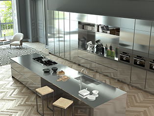 Ilve, Italian Company Of Premium Kitchen Furniture, Presents A New Concept  Of Kitchen, Designed To Offer An High Level Professional Solution To The ...
