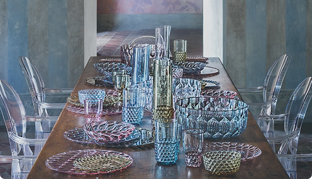 KARTELL presents its tableware line - Home Appliances World