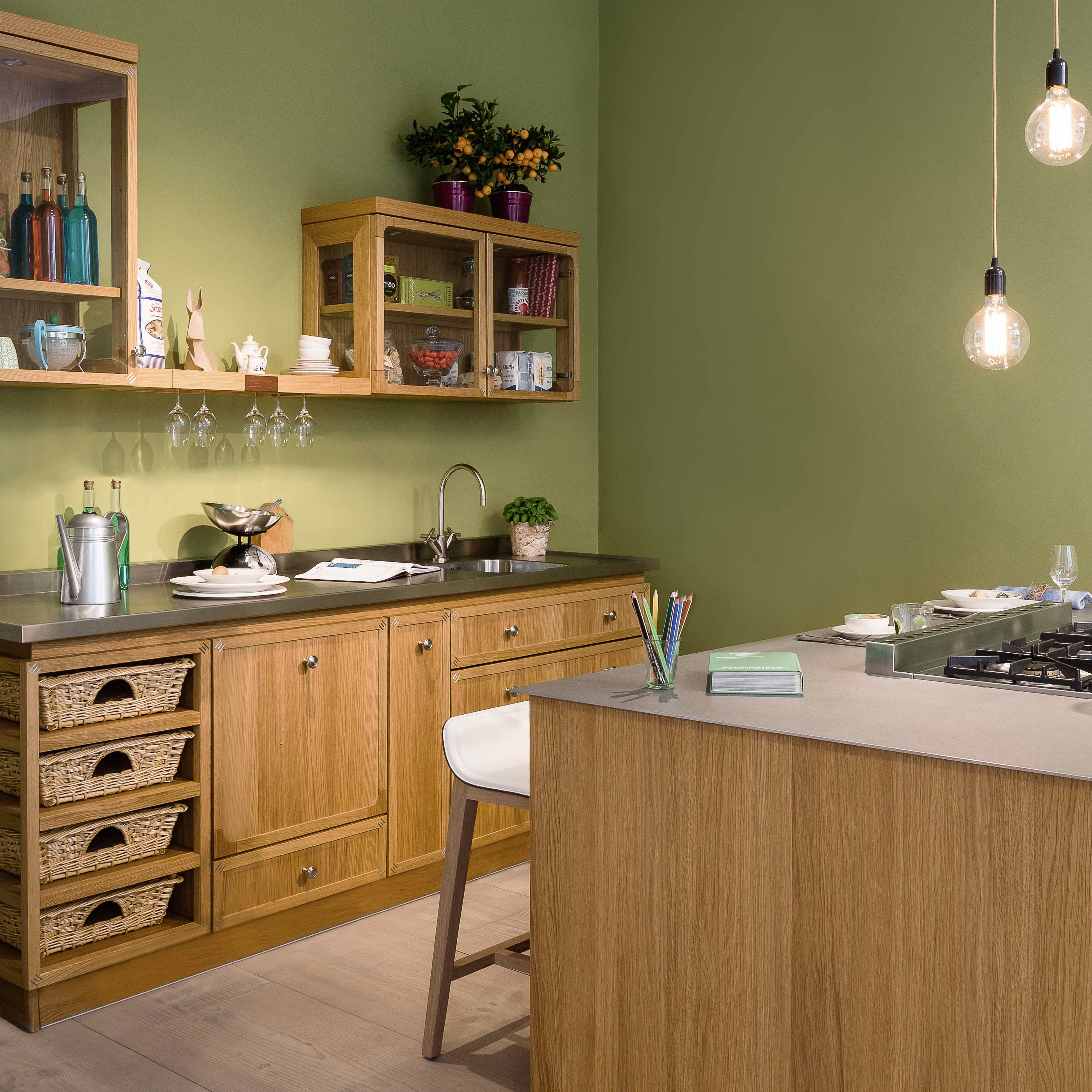 The French Company La Cornue Has Conceived A Solution That Allows To  Install A Cooking Island Also In Small Kitchens, That Generally Have Not  Enough Space ...