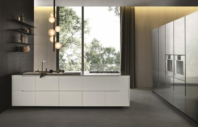 Phoenix Model Kitchen, Light Color, Of Varenna, Poliform Division