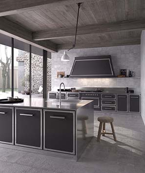 Ilve Presents Pro Fashion Al Kitchen At Eurocucina Home Appliances World