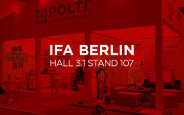 Polti presents its news at IFA 2016