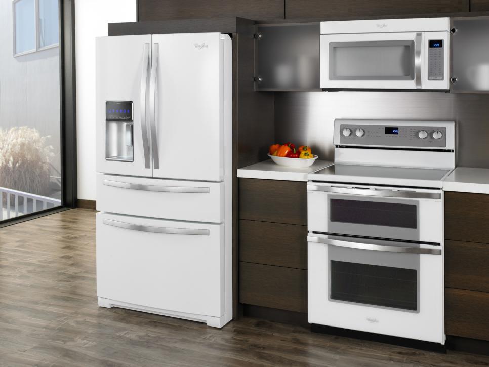 Large Kitchen Appliance Color Trends