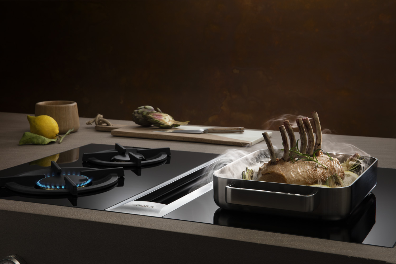 Bora professional makes the kitchen exclusive home for Bora küchen