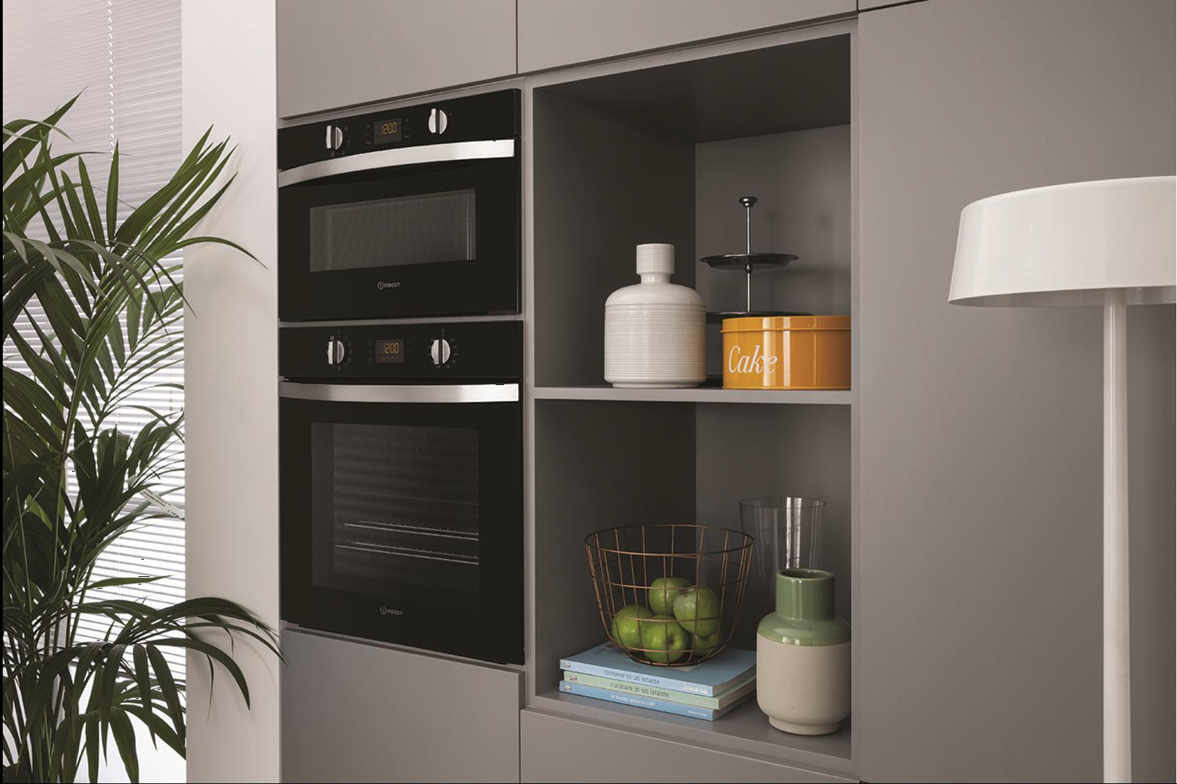 New World Kitchen Appliances Aria The New Elegant Indesit Built In Collection Home