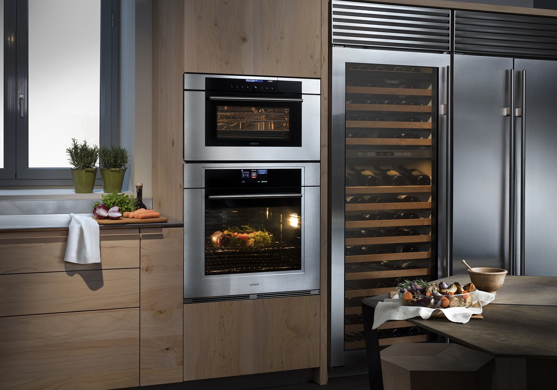 Toncelli, Historical Tuscan Kitchen Producer And Frigo 2000, The Italian  Distributor Of High End Home Appliances Brands (like Wolf, Sub Zero, ...