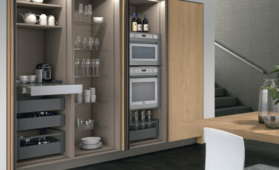 Cucine Lube solutions for open space - Home Appliances World
