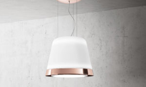 Elica embellishes hoods with copper