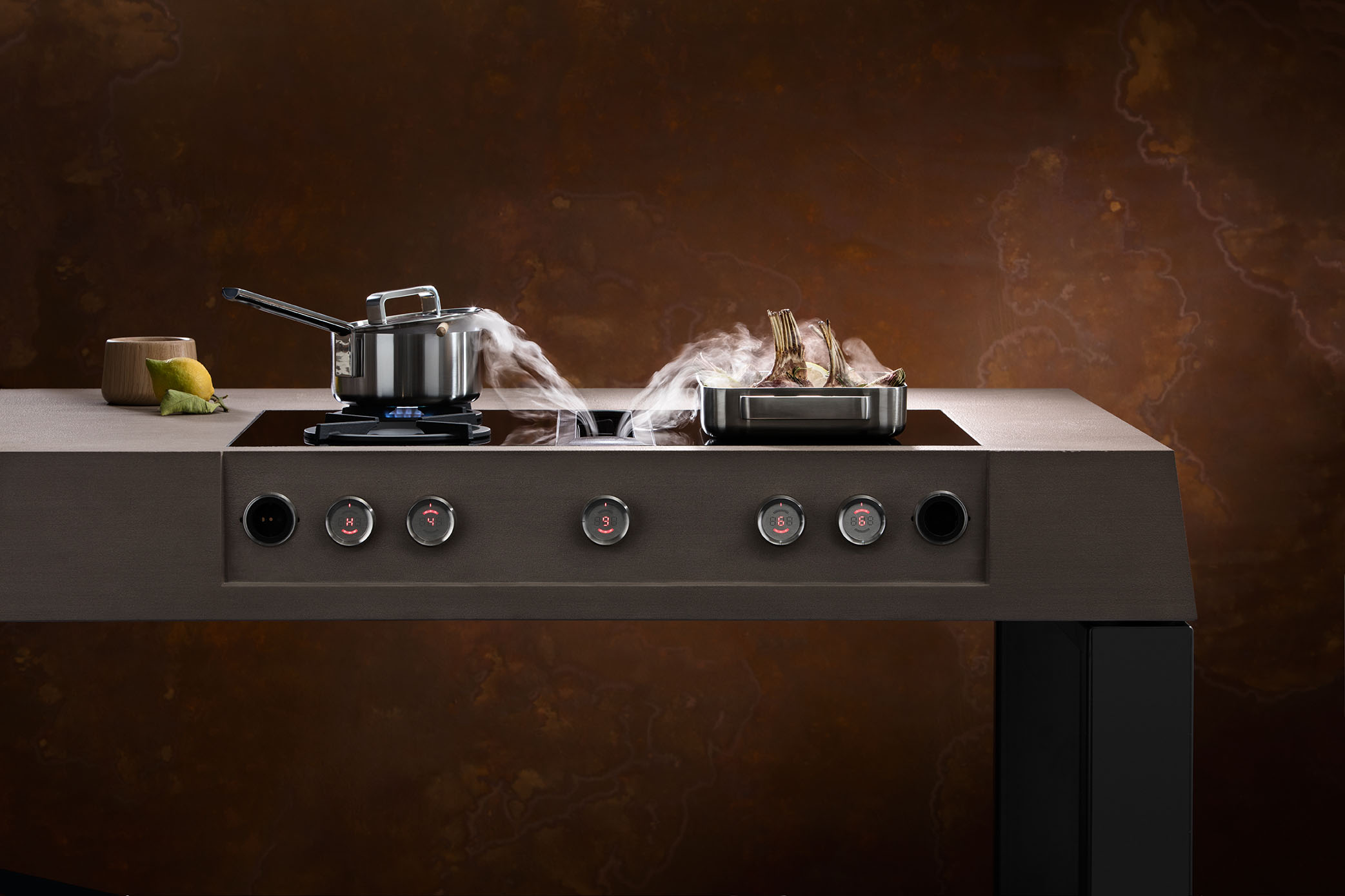 Bora American Company Of High Level Kitchen And Cooling Appliances Will Present The New Professional Cooking System At Next Edition Area30