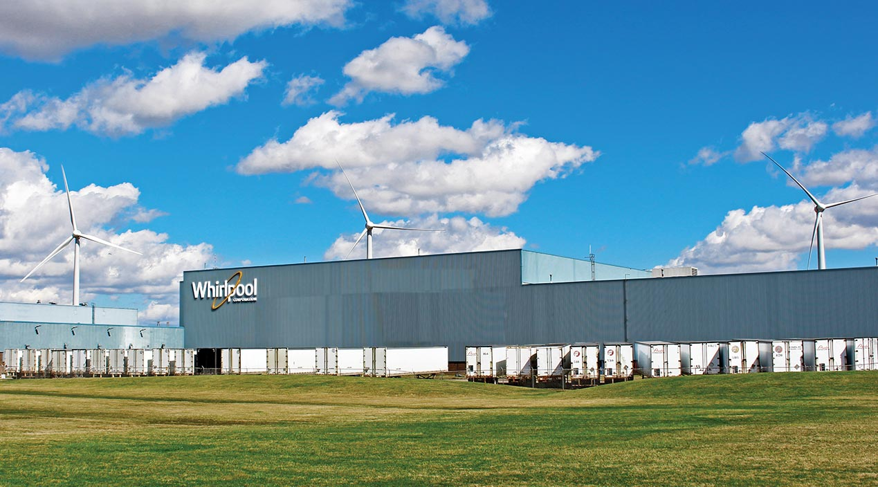 Whirlpool recognized for company sustainability - Home