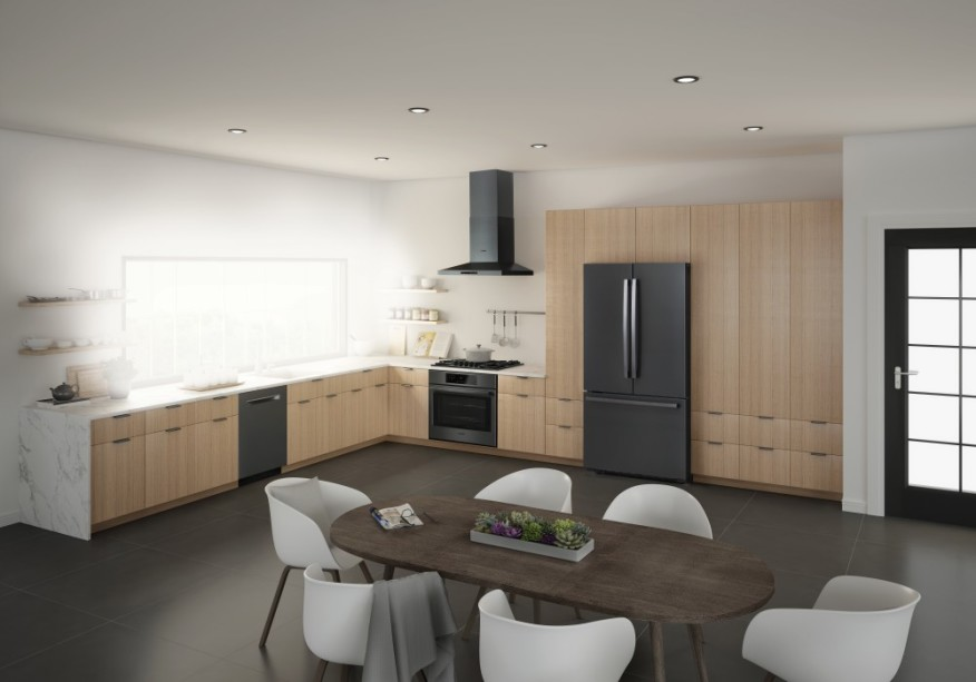 During The Current Edition Of KBIS, The Kitchen And Bath Industry Show In  Orlando, That Will End Tomorrow, Bosch Appliances Is Presenting Its First  Black ...