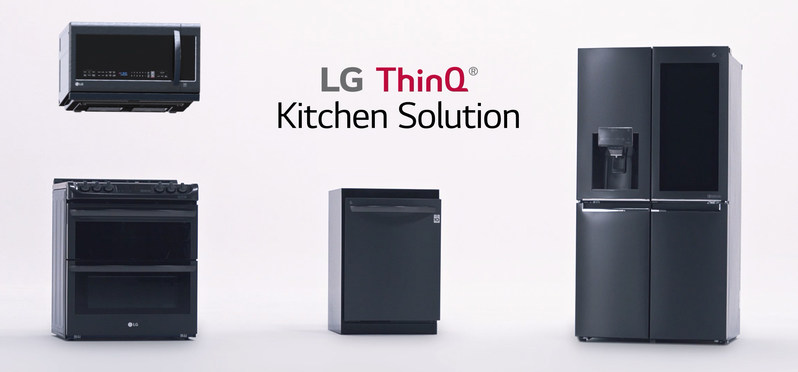 LG unveils its kitchen of the future at CES 2018 - Home Appliances World