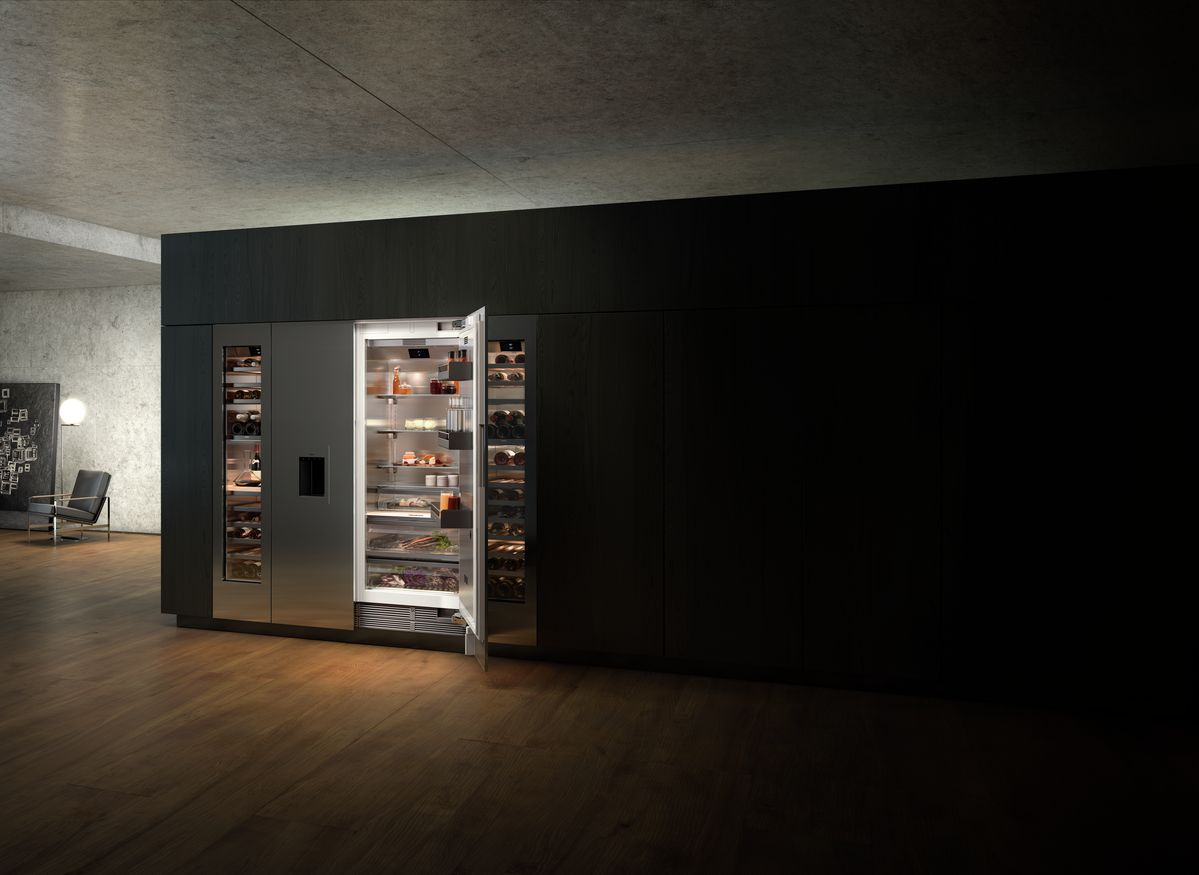 gaggenau presented vario cooling 400 series home appliances world. Black Bedroom Furniture Sets. Home Design Ideas