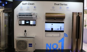 Haier presented the AC news at MCE 2018