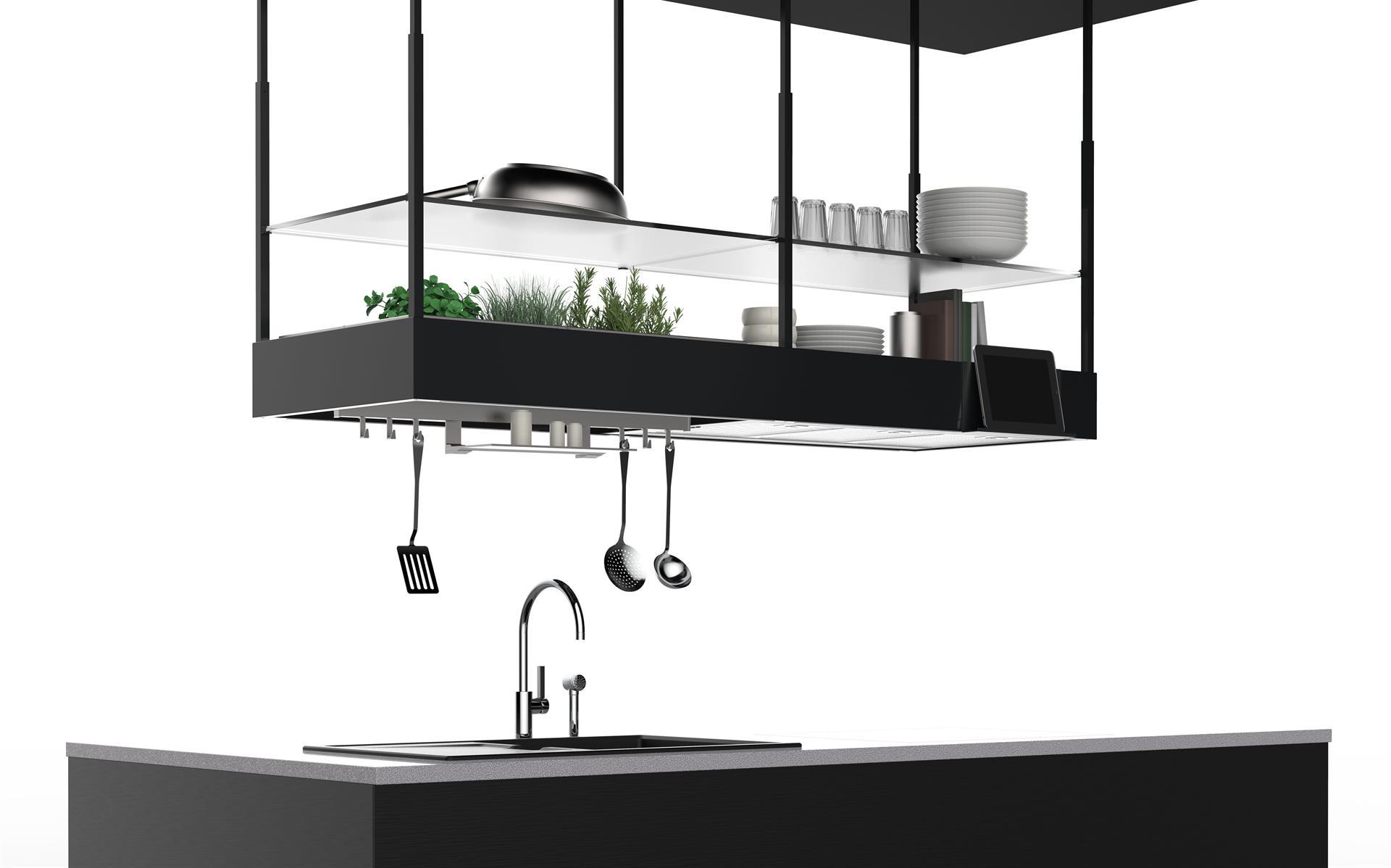 Falmec will present spazio at eurocucina home appliances for Cappa cucina design