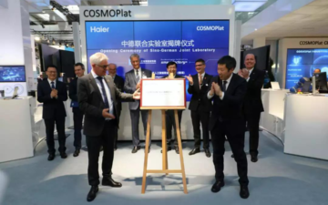 Haier presents the COSMOPlat project