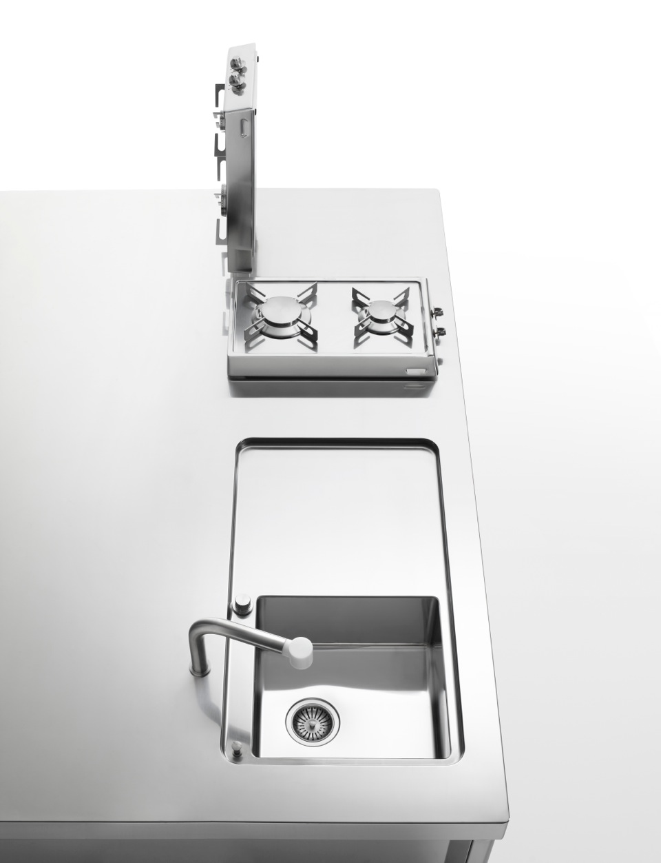 Alpes Inox. Awesome Interesting Creative Flip Up Cooktop For Small ...
