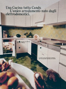 First Candy built-in kitchen (1974)