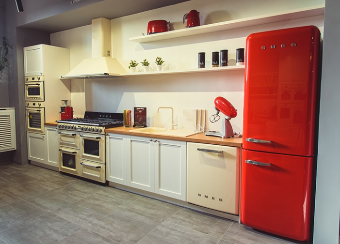 Another International Showroom For Smeg, Which Has Recently Inaugurated A  400 Square Meters Showroom In The Center Of Tashkent, Uzbekistan.