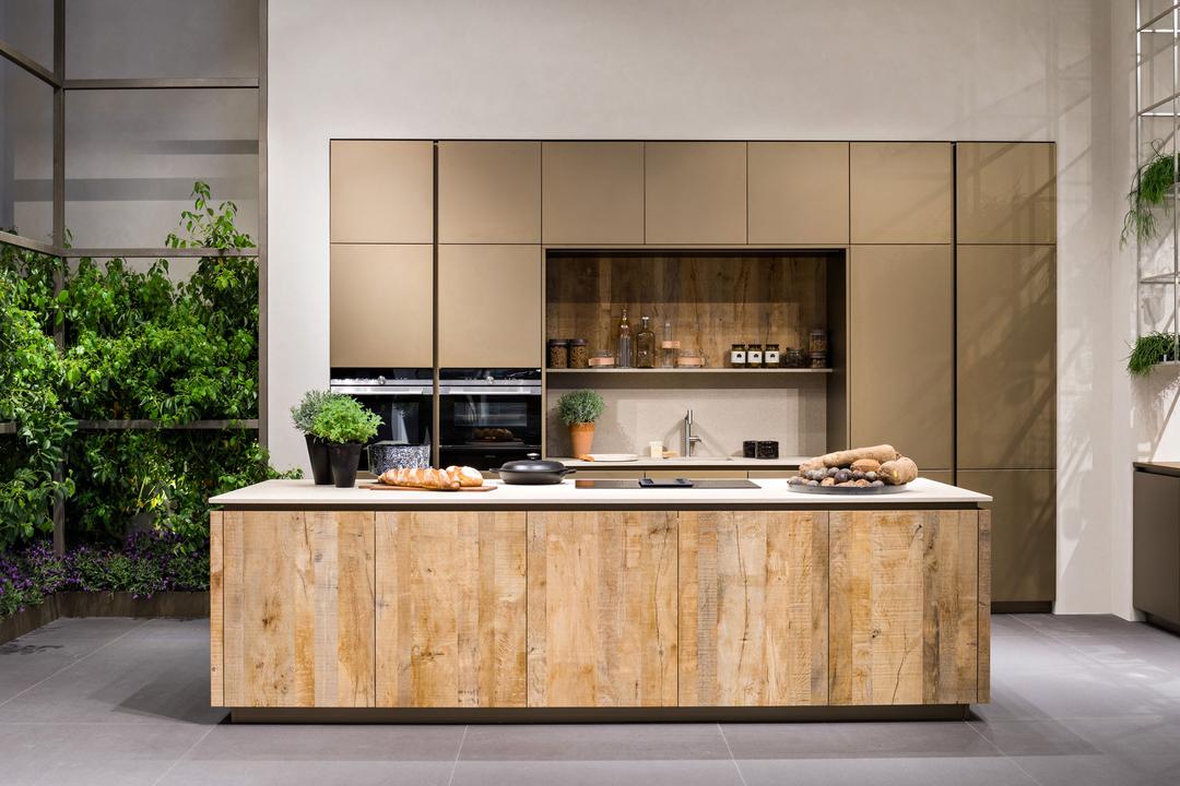 Veneta cucine presented launge at the milan design week for Cucine design milano