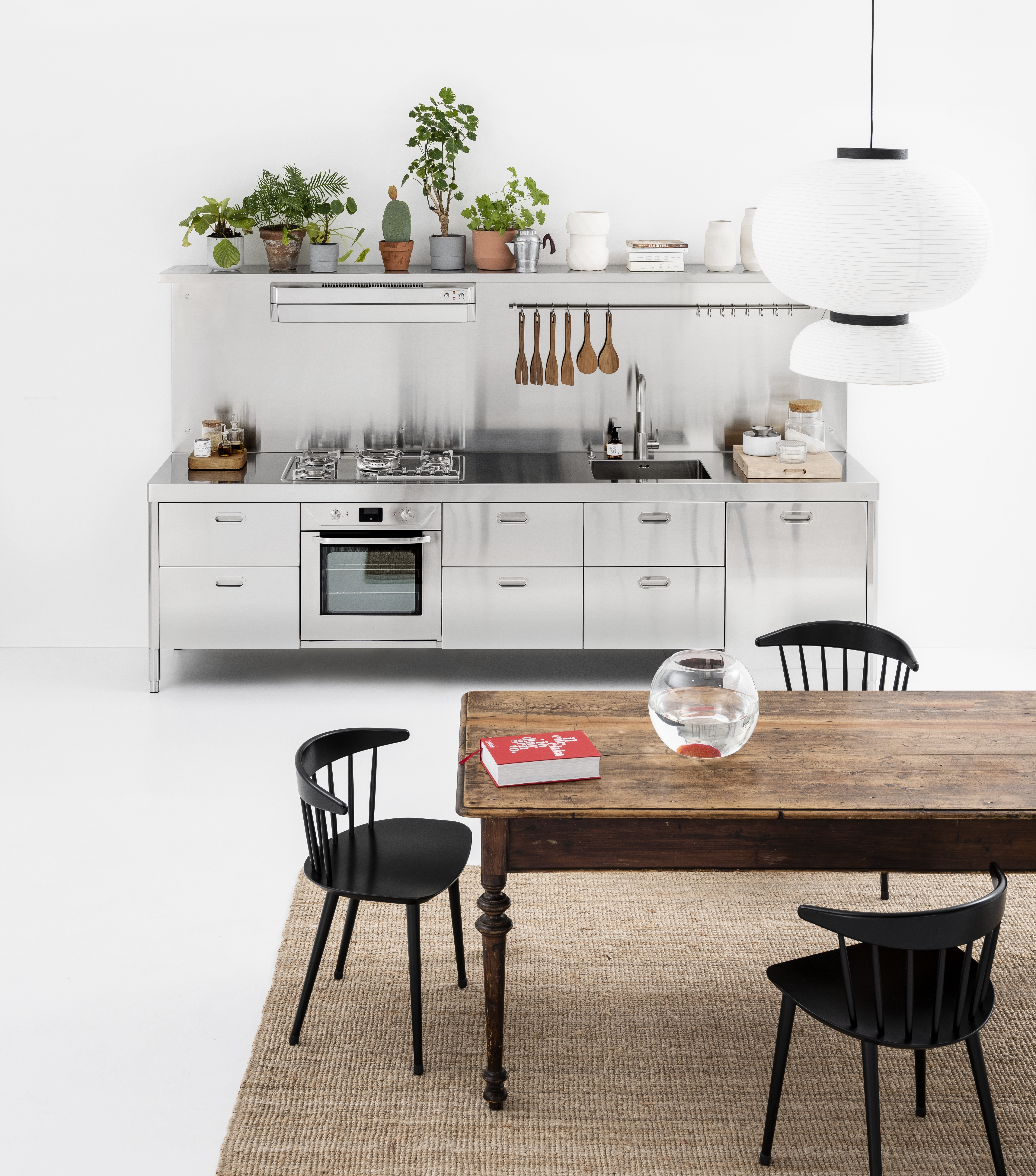 LIVING KITCHEN: four new solutions by Alpes-Inox - Home Appliances World