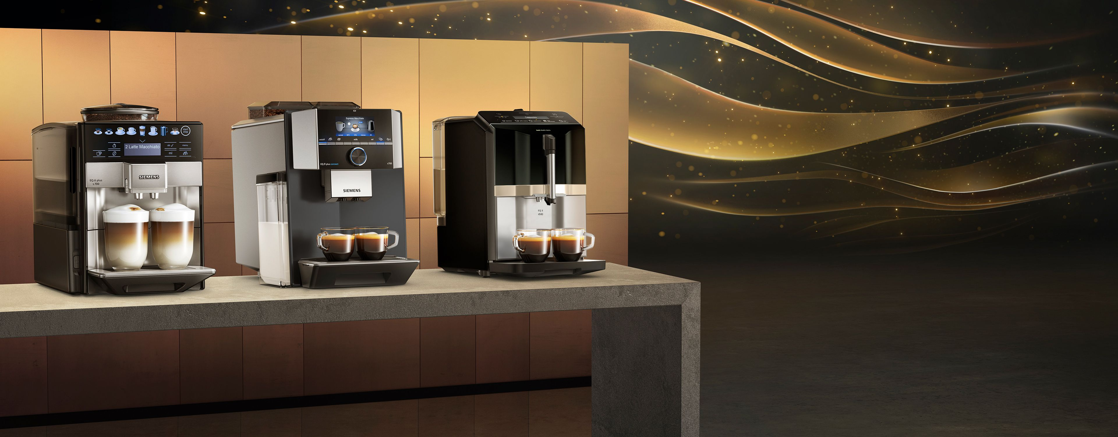 Eq The New Range Of Fully Automatic Coffee Machines By