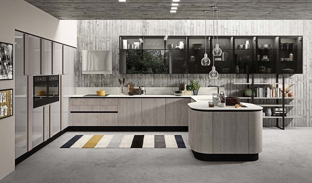 The New Version Of Erika By Aran Cucine Will Be Displayed At Eurocucina 2020 Home Appliances World